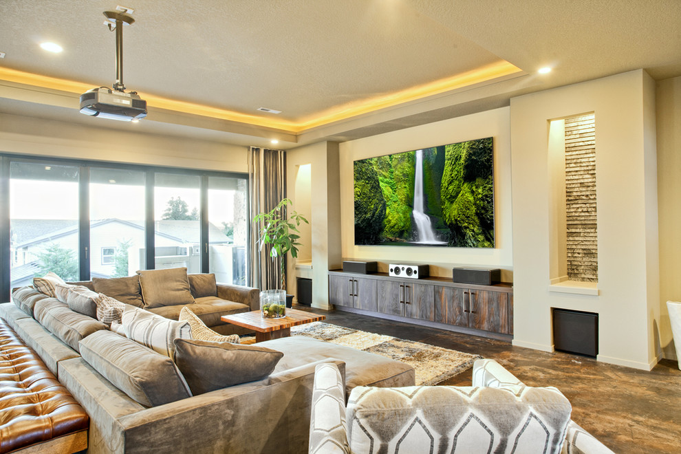 Living Room Design Ideas The Best Projectors For Home Theater Review And Comparison Of Popular Models